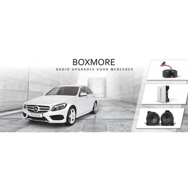 Boxmore Audio upgrade Mercedes MB DSP inclusief Montage