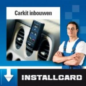 Installcard Carkit inbouwen