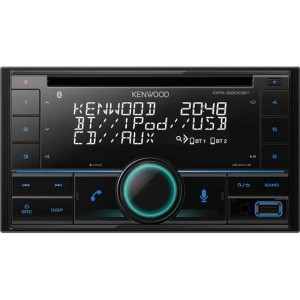 KENWOOD DPX-5200BT 2-DIN MP3-Tuner met Bluetooth