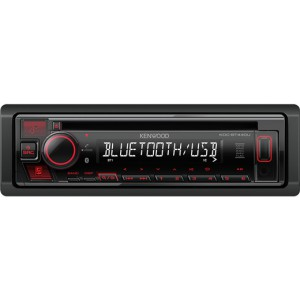KENWOOD KDC-BT440U Bluetooth MP3-Radio met USB