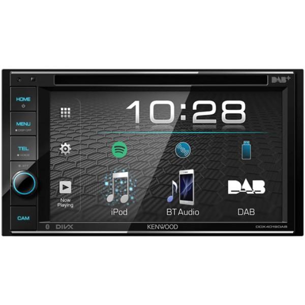 KENWOOD DDX4019DAB Moniceiver 2-Din met Bluetooth