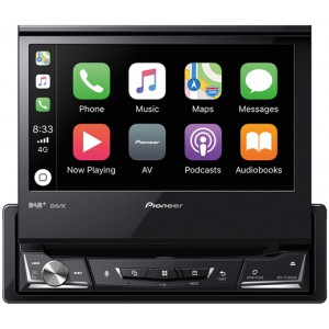 PIONEER AVH-Z7200DAB 1-DIN CarPlay Android Auto